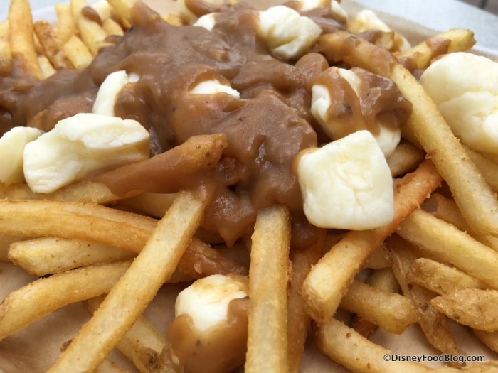 Poutine with Gravy and Cheese Curds