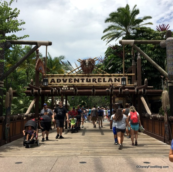 Adventureland in Magic Kingdom