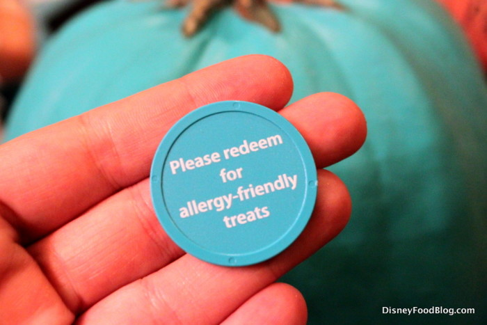 Allergy-friendly treats token