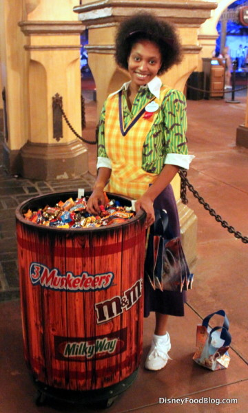 Trick-or-Treat in the Magic Kingdom