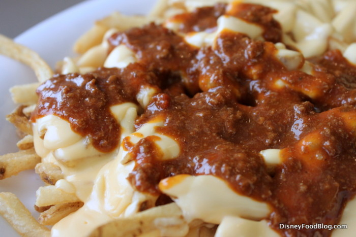 Cheese Fries with Chili!