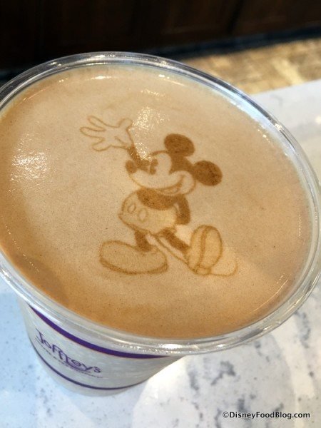Mickey Mouse Joffrey's Coffee!