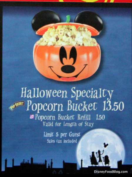 Themed Popcorn Bucket