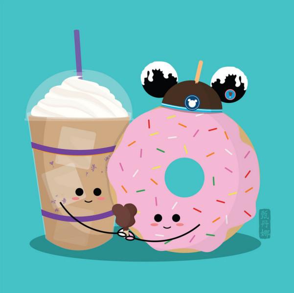 Cute Food Art by Donna Yan — Disney World Edition! | the ...