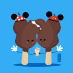 """You're Going to Love This! """"Cute Food Art"""" Featuring Iconic Disney Snacks!"""