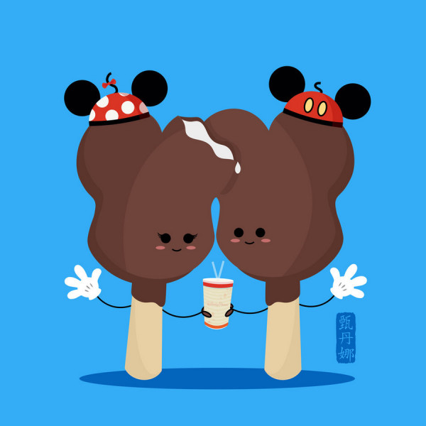 you re going to love this cute food art featuring iconic disney