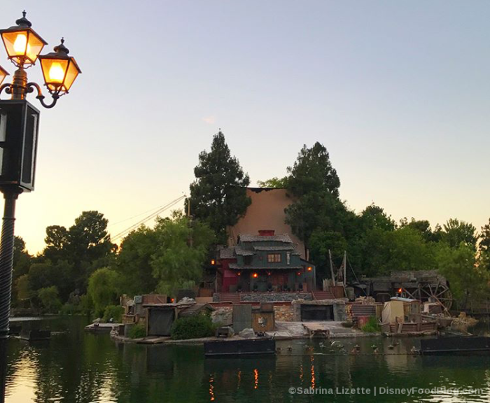 View from River Belle Terrace and Blue Bayou Fantasmic Preferred Seating