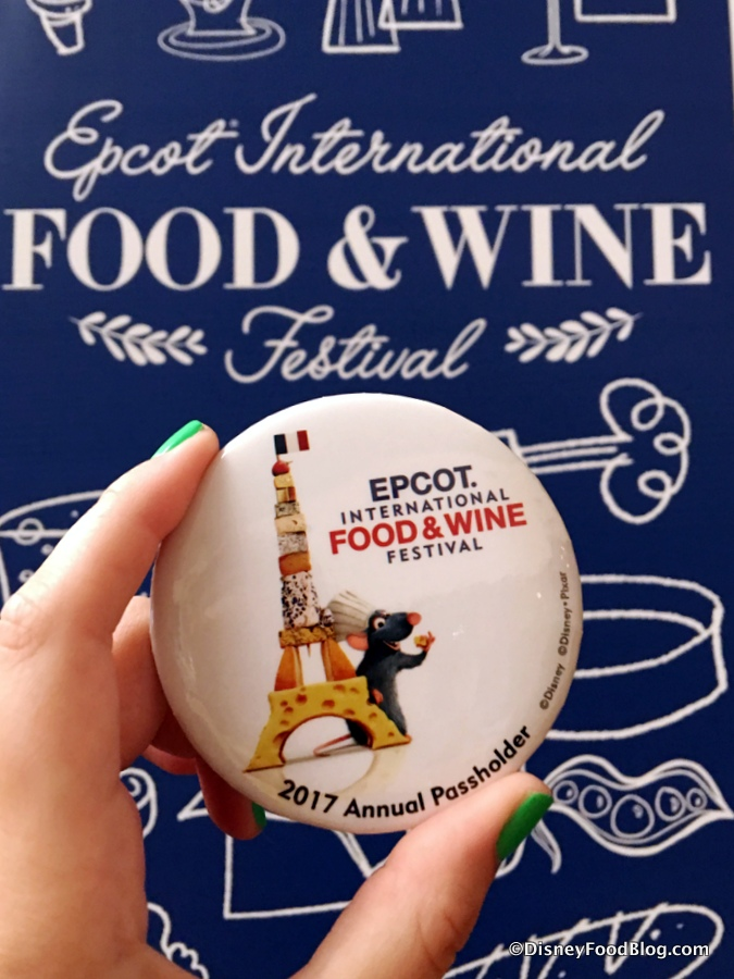 Disney Food And Wine Annual Passholder
