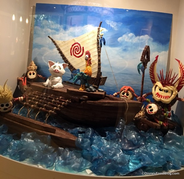 Chocolate Moana Display