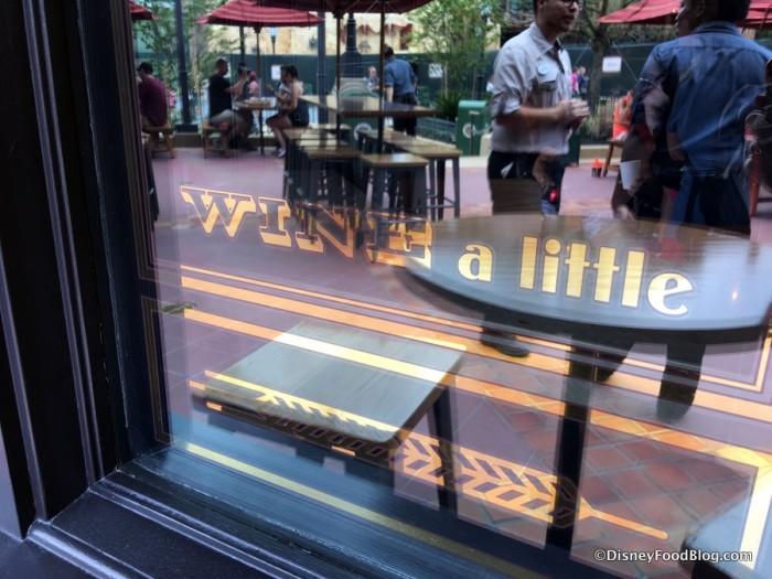"""""""WINE a little..."""""""
