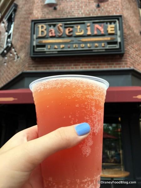 Space Ace Bloody Orange Hard Cider