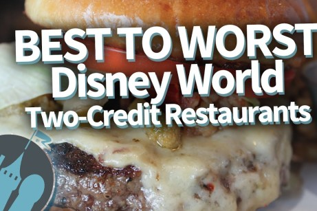 Best to Worst Two Credit Restaurants WDW