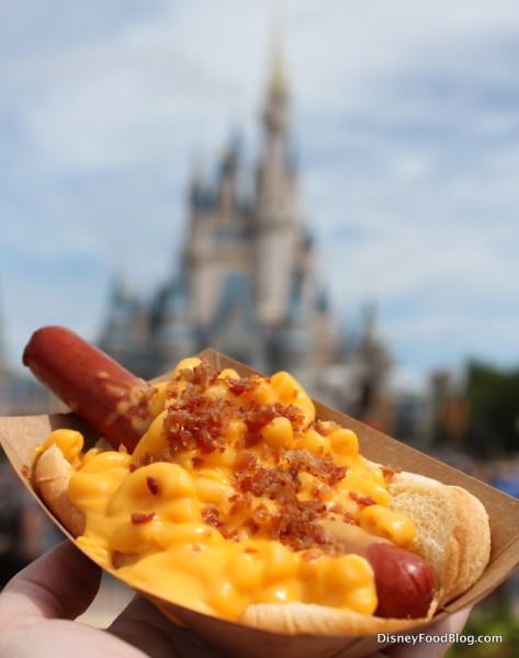 Mac and Cheese Hot Dog