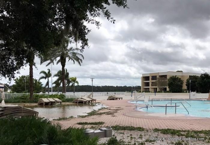 Contemporary Resort in Disney World after Hurricane Irma