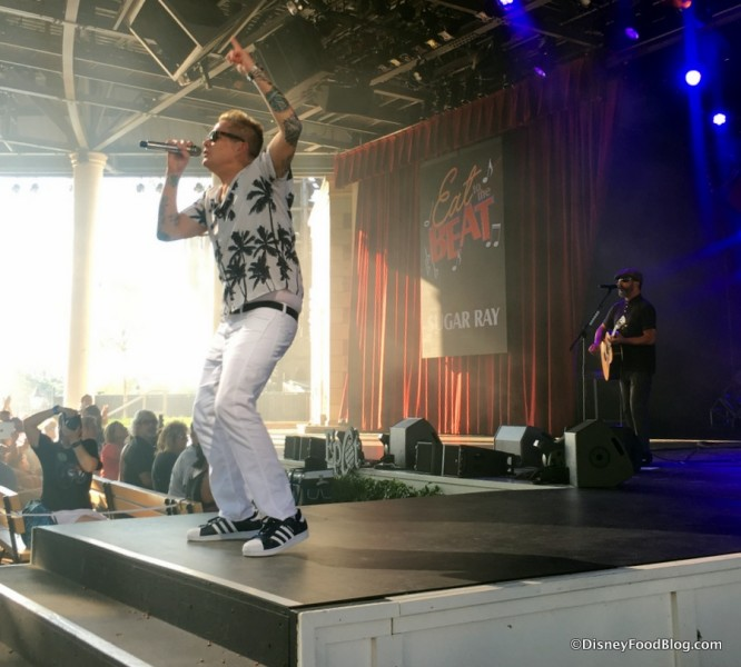 Sugar Ray performs during the Eat to the Beat concert series