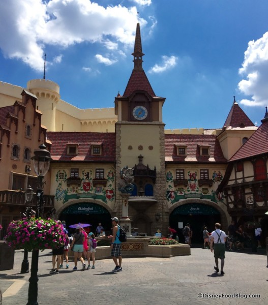 Epcot's Germany Pavilion
