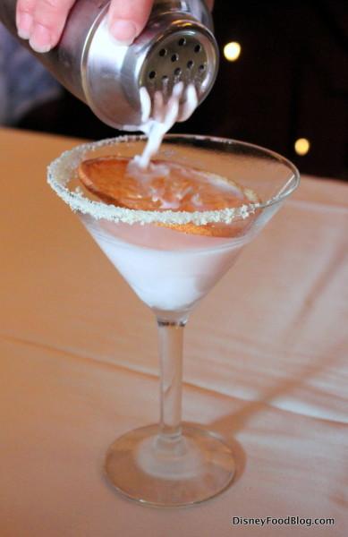 Grapefruit Cake Martini