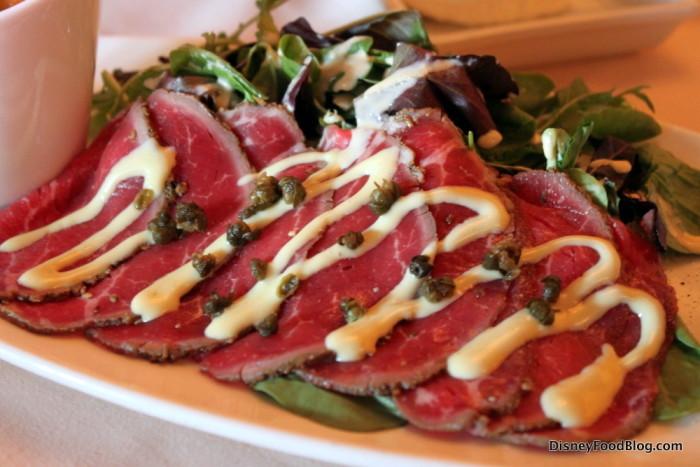 Beef Carpaccio -- Up Close