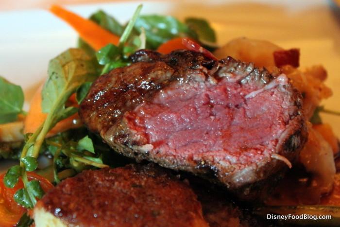 Charred Filet of Beef -- Inside