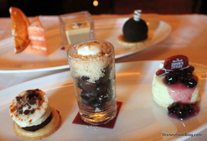 Brown Derby Dessert Trio