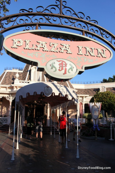 Plaza Inn Entrance