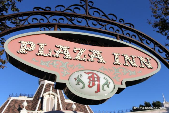 Plaza Inn Sign