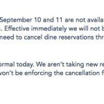 BREAKING NEWS: Disney Halts Dining Reservations During Hurricane Irma