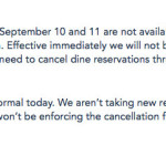 BREAKING NEWS: Disney Halts Dining Reservations During Hurricane Irma