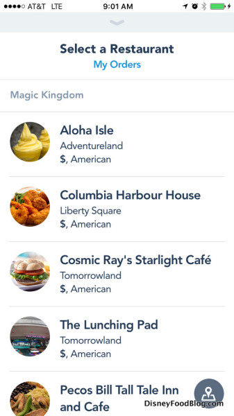 aloha isle mobile order select restaurant