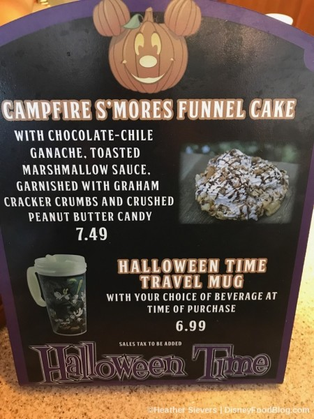 Campfire S'mores Funnel Cake