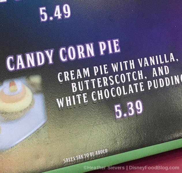 Candy Corn Pie Sign