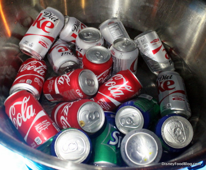 Cans of Soda
