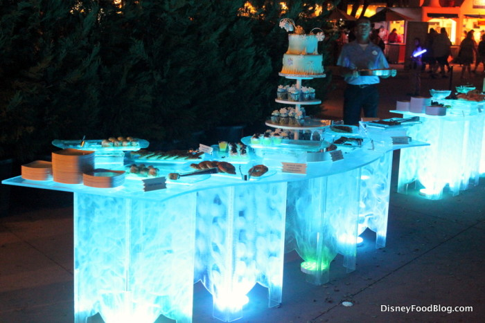 Glowing Tables
