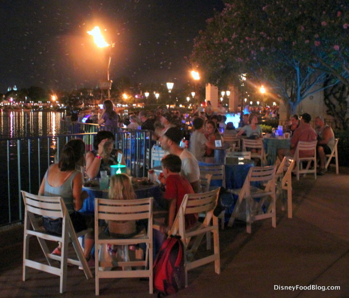 Frozen Ever After Dessert Party Seating