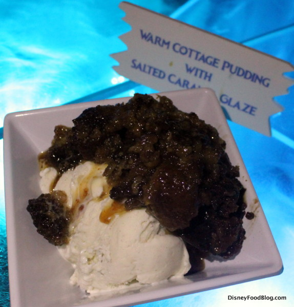 Ice Cream and Warm Cottage Pudding