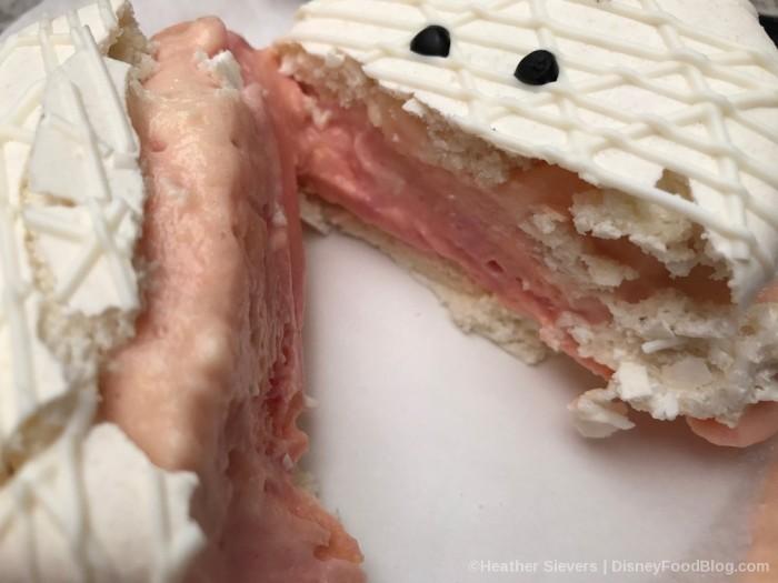 Inside of the Mummy Macaron