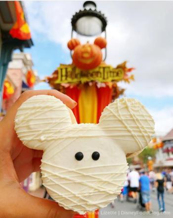 Disneyland Mummy Macaron