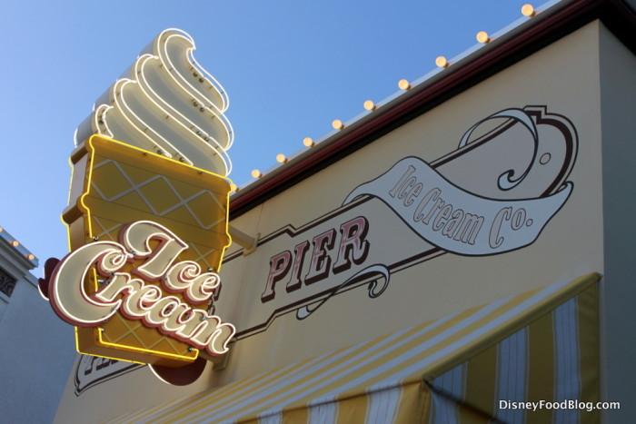 Paradise Pier Ice Cream
