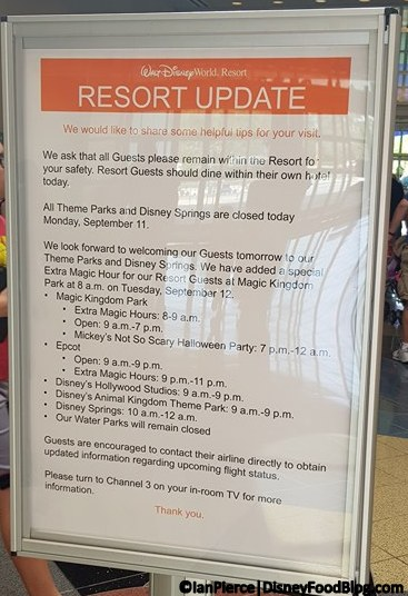 Disney World theme parks reopening September 12!