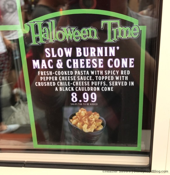 Slow Burnin' Mac and Cheese Cone
