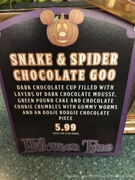 Snake and Spider Chocolate Goo
