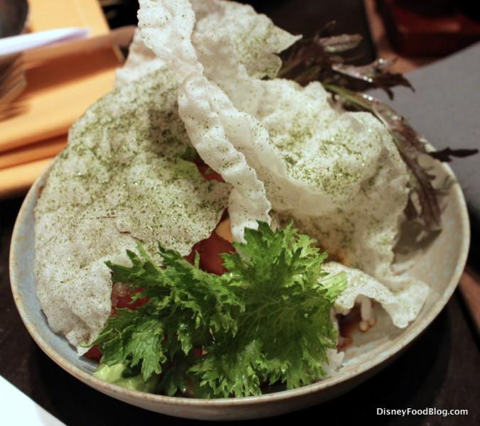 Tuna Tataki Rice