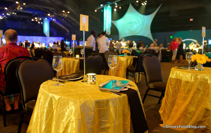Table at Party for the Senses