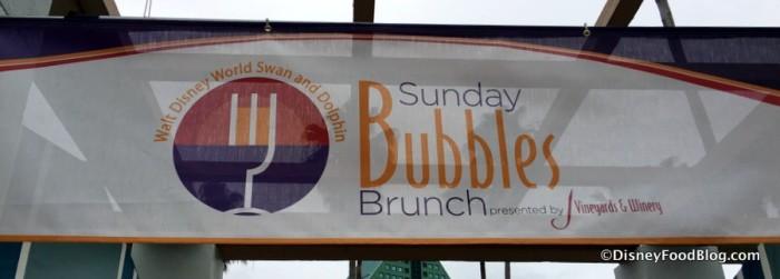 Sunday Bubbles Brunch
