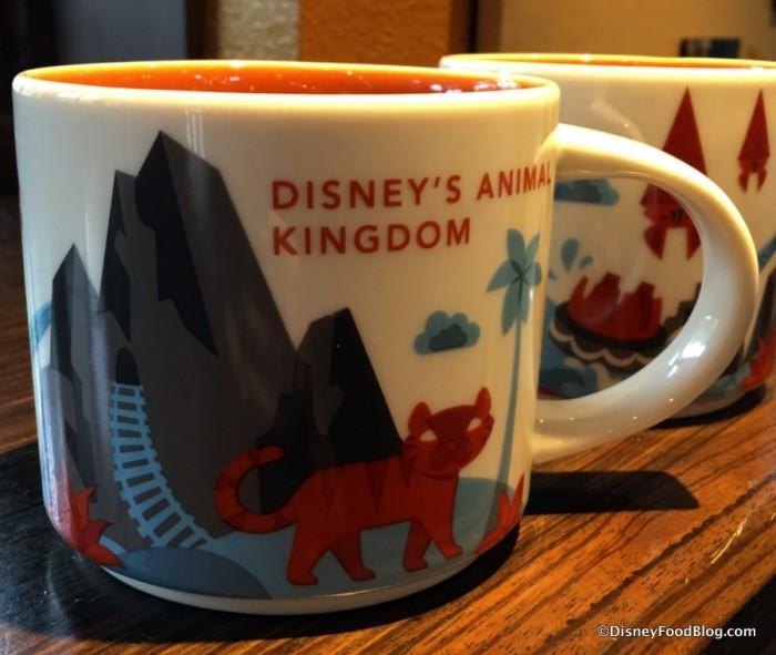 """New Animal Kingdom """"You Are Here"""" Mug"""