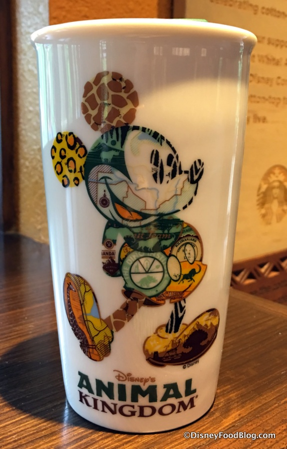 Spotted New Animal Kingdom Starbucks Mickey Tumbler And