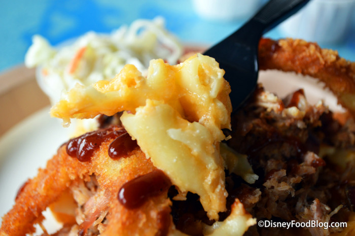 Baked Macaroni and Cheese with Pulled Pork