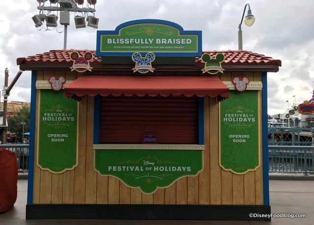 Festival Of Holidays Food Booth  Menus
