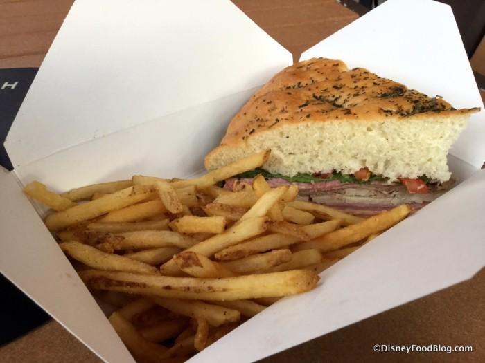 Big Kahuna Sandwich and Fries
