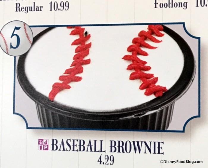Baseball Brownie